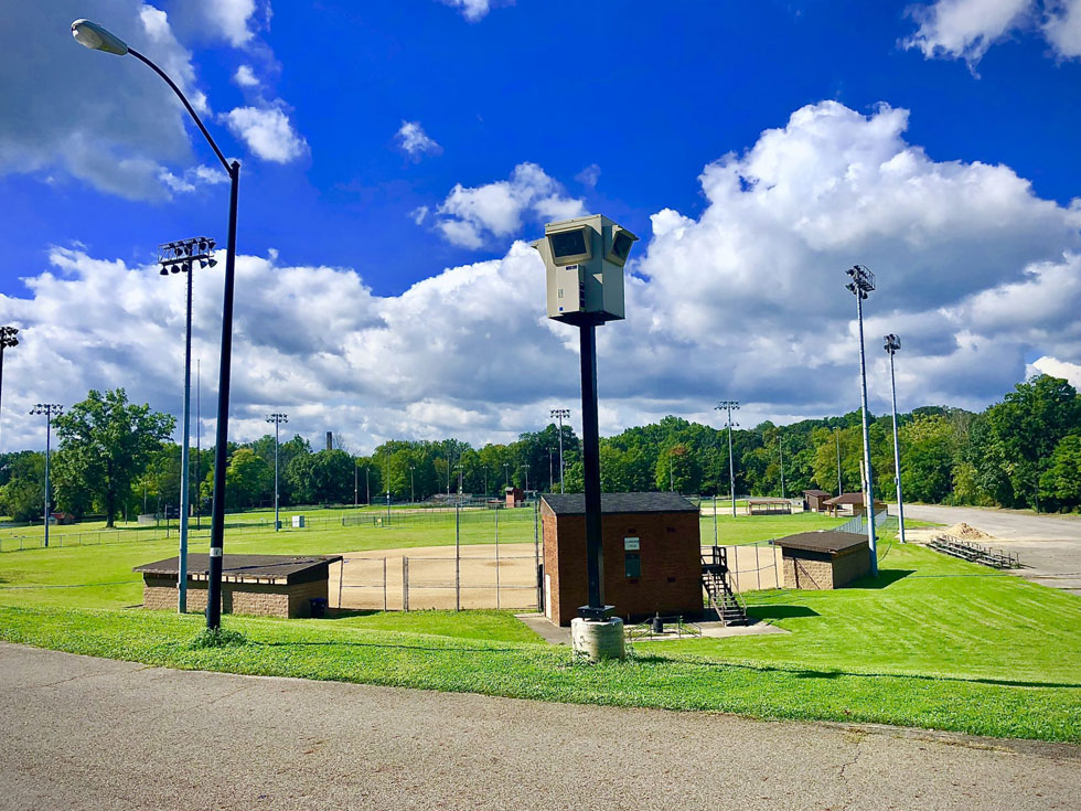 video surveillance unit sports complex